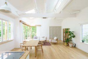 064 フローリング床材・壁・天井のカラーバランスでセンスの良い部屋に