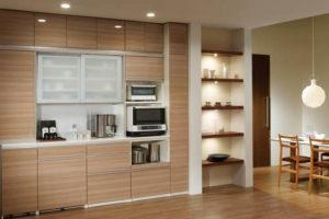 200 キッチン収納 家電・ゴミ箱・食器などの具体的な置き場所について