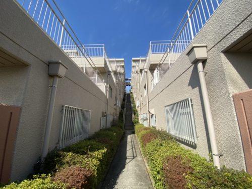東灘区、眺望の最前例 万翆園3号棟