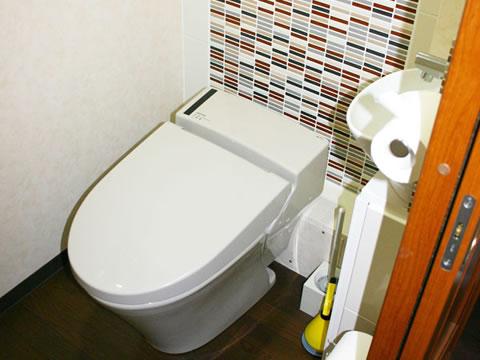 キレイでお洒落 トイレのリフォーム