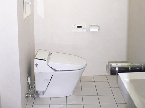 高機能トイレのリフォーム 1枚目
