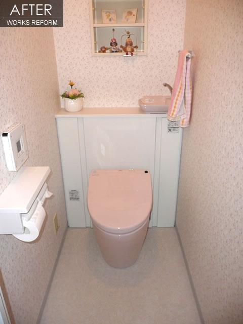 クロスとトイレのリフォーム  1枚目