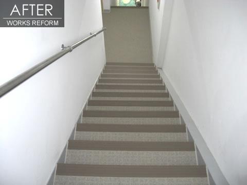 安全な階段 マンションリフォーム  2枚目