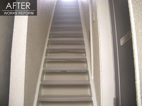 階段を安全に マンションリフォーム 2枚目