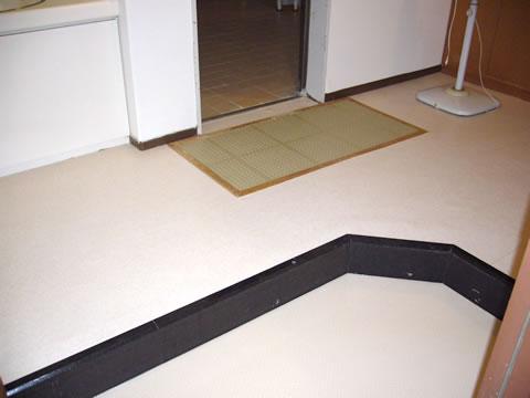 機能性に優れた床材でリフォーム 2枚目