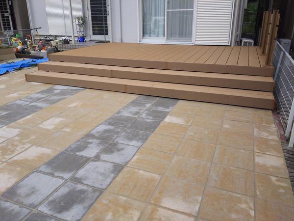 フェンスとウッドデッキを設置!使いやすくスッキリしたお庭に 7枚目