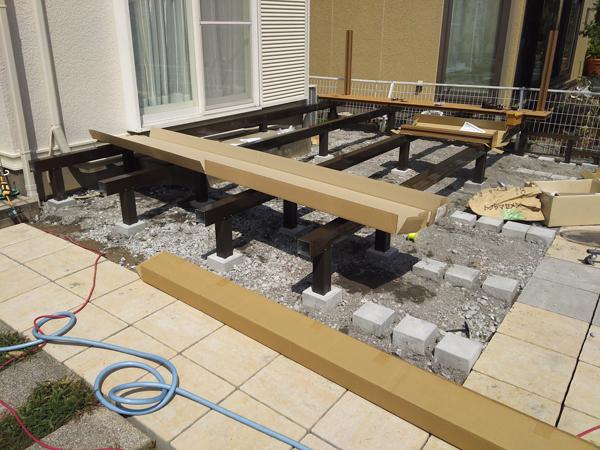 フェンスとウッドデッキを設置!使いやすくスッキリしたお庭に 5枚目