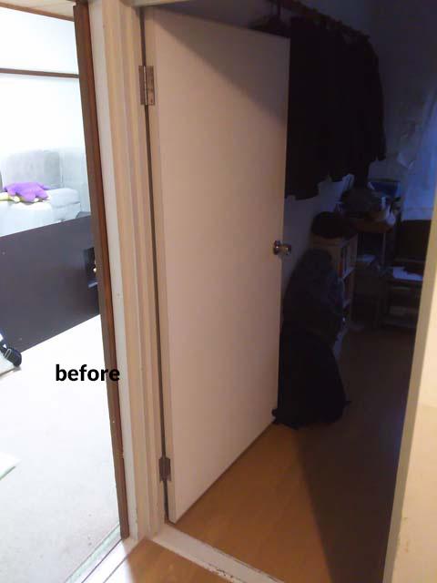 和室を洋室へリフォーム 子供一人に一部屋ずつ 9枚目