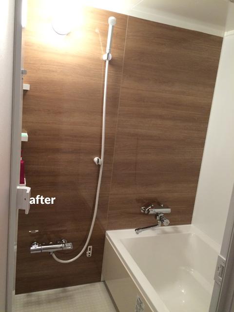マンション アスベスト含有の浴室・洗面所などの水回りをリフォーム  2枚目