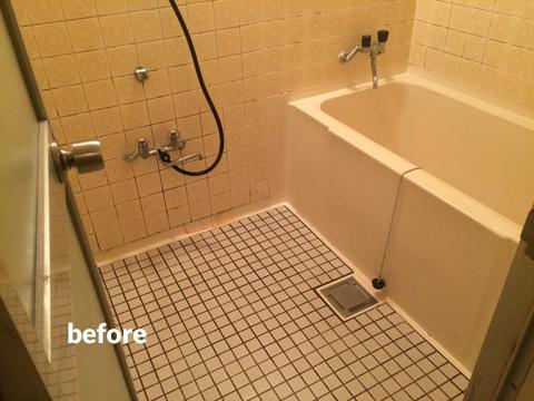 マンション アスベスト含有の浴室・洗面所などの水回りをリフォーム  3枚目