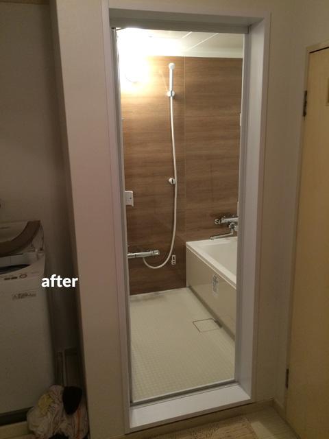マンション アスベスト含有の浴室・洗面所などの水回りをリフォーム  4枚目