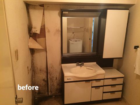マンション アスベスト含有の浴室・洗面所などの水回りをリフォーム  8枚目