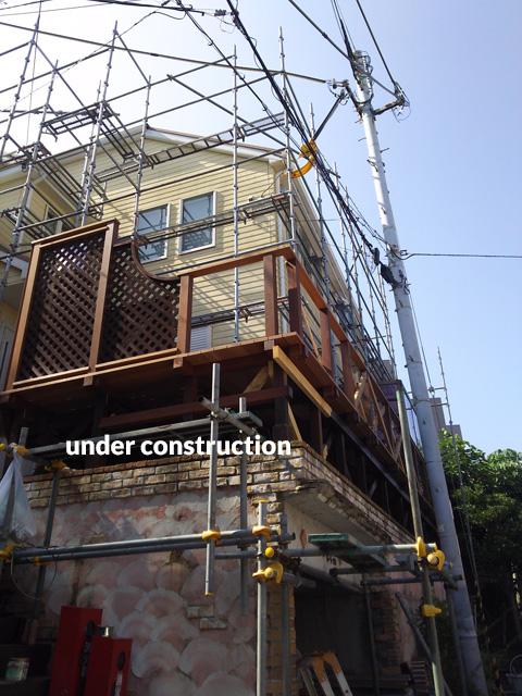 ウッドデッキ改修&外壁塗装工事 補強して耐久性もバッチリ 10枚目