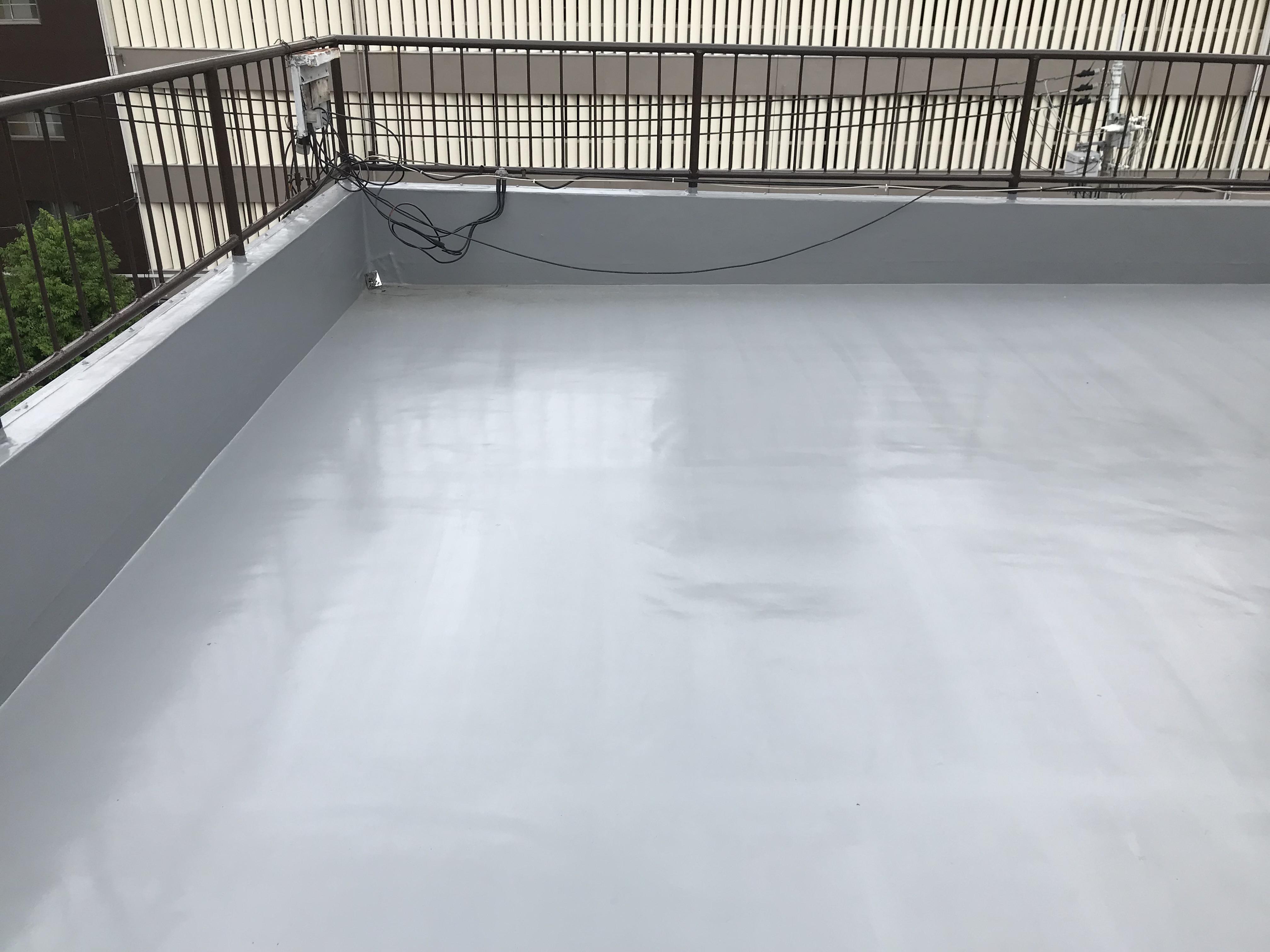 これで安心ビルの屋上防水工事事例