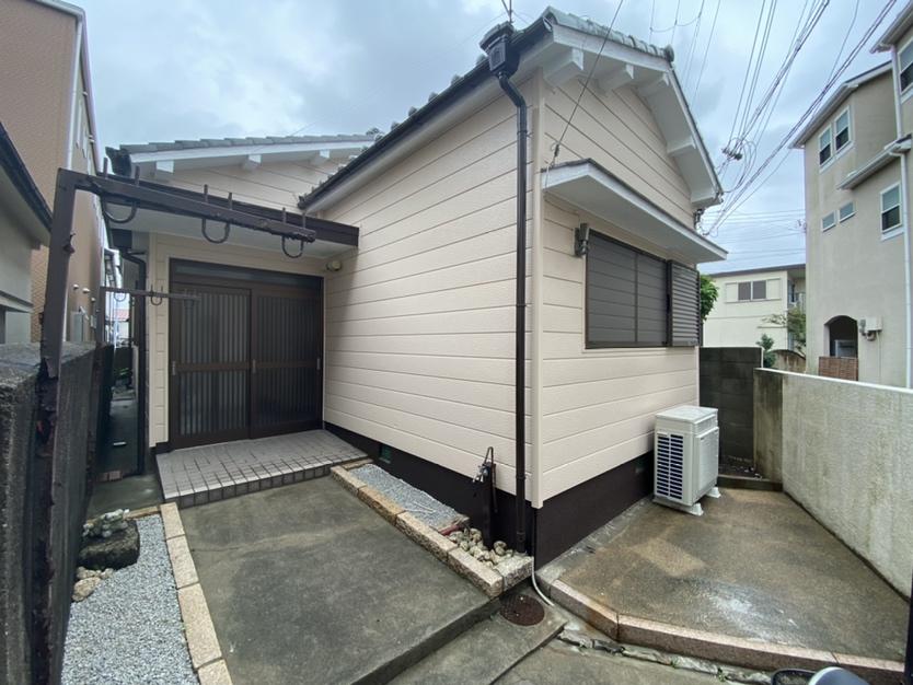神戸市垂水区で外壁塗装工事
